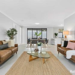 Lounge suite Tan leather